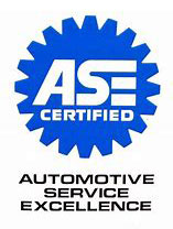 Automotive service excellence certified